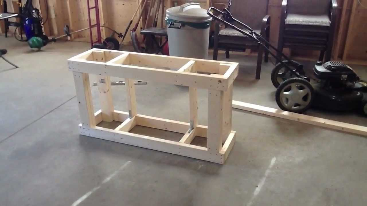 55 Gallon Fish Tank Stand Build