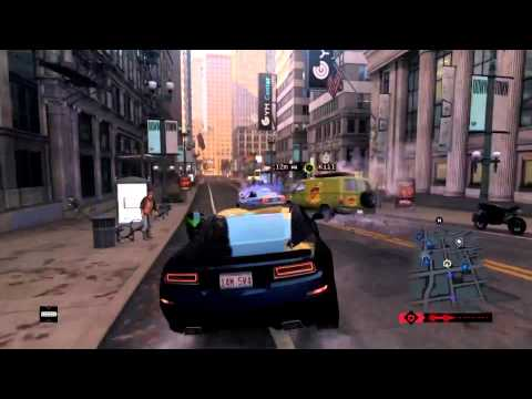 Watch Dogs Multiplayer Gameplay Online Details Info PVP&COOP PS4 Xbox One PC 1080p
