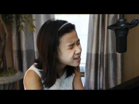 Someone Like You - ADELE - 10 year old DOMINIQUE (vocal & piano cover adele)  / video sounds 2012