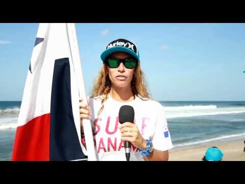 Sonia García on the 1st Day of the Nicaragua ISA World Masters 2012