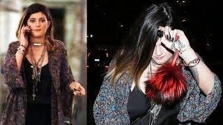 Kylie Jenner Reveals MASSIVE Forearm Tattoo [2014]