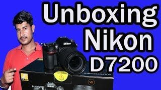 Nikon D7200 DSLR Camera Unboxing 2018 in Hindi BY- Satyajeet Technical