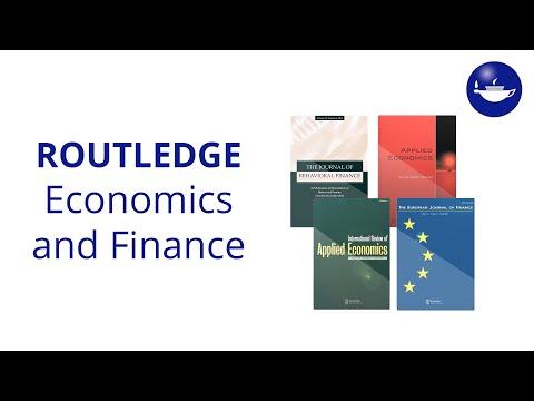 Routledge Economics and Finance Journals
