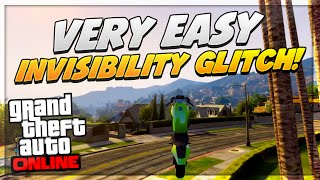 GTA 5 Glitches: EASY Invisible Character Glitch + Off The Radar Online 1.15