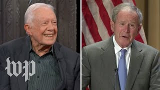 Four times former presidents implicitly rebuked President Trump