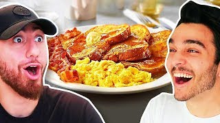 Who Can Cook The Best BREAKFAST?! *TEAM ALBOE COOK OFF FOOD CHALLENGE!*
