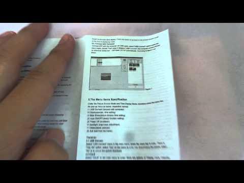 [User Manual] Digital Photo Frame 1.5' TFT Screen (Malaysia)