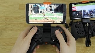 MOGA Pro and Hero Power Controllers Setup and Game Play Demo