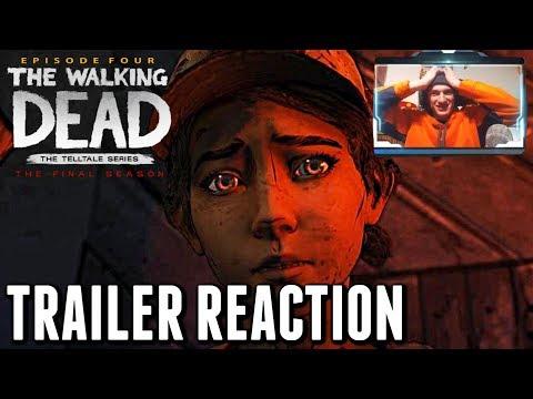 "The Walking Dead:Season 4 Episode 4 ""Take us Back"" OFFICIAL TRAILER REACTION - The Final Season"
