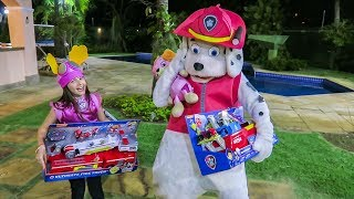 Best Learn Colors Video Baby Marshall Paw Patrol Eats McDonald's Mr. Doh Belly