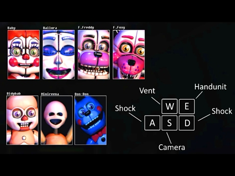 Five Nights at Baby's: A Sister Location Mod