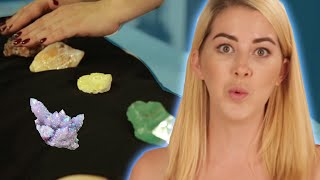 Women Try Crystal Healing For Chronic Pain