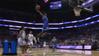 Duke's Zion Williamson Soars For Power Dunk