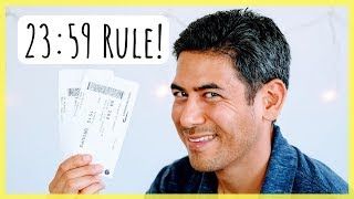Booking Connections & Stopovers | Use the 23:59 Rule to Visit More Places
