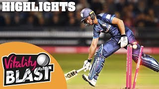 Gloucestershire v Derbyshire | Madsen Leads By Example | Vitality Blast 2019 - Highlights