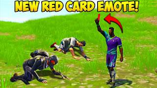 *NEW* RED CARD EMOTE BEST PLAYS! - Fortnite Funny Fails and WTF Moments! #228 (Daily Moments)