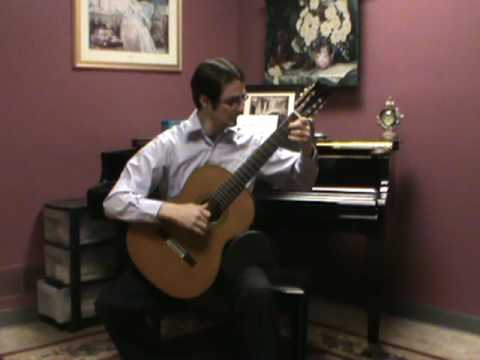 Fernando Sor Etude Op. 6 no. 11. segovia 17. played by Matt Deely.