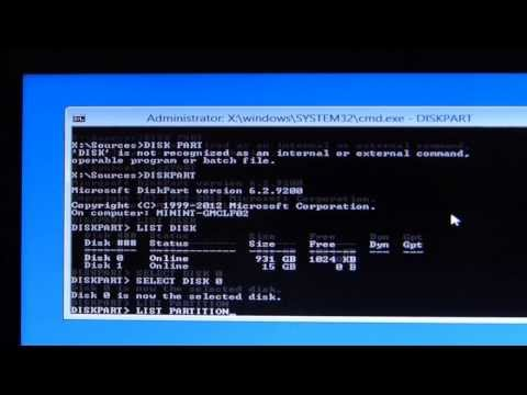 How to Restore Windows boot loader After Deleting Linux and Grub loader
