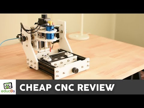 Review: Cheap CNC Machine from Banggood.com