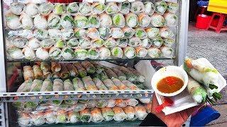 Xe gỏi cuốn tôm thịt khiến người Sài Gòn mê mẩn nhờ mắm nêm cực ngon | street food of saigon
