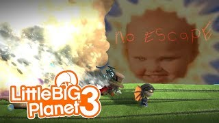 TELETUBBIES ARE WORSE THAN SLENDYTUBBIES | Little Big Planet 3 (PS4) Multiplayer Gameplay