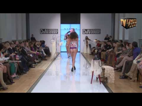 Показ Bon Bon Lingerie, DnN St.Petersburg Fashion Week, 7 октября 2012, Dress Code TV