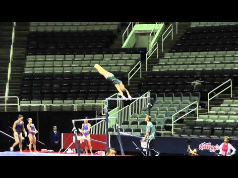 WOGA (Nastia Liukin) PT Dismount
