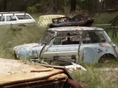 Abandoned cars, trucks & machinery. Part 1