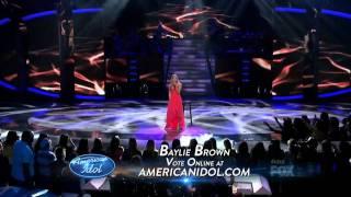 Baylie Brown - Amaze - American Idol Top  12 Girls