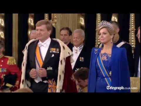 Dutch crowning: Willem-Alexander sworn in as king