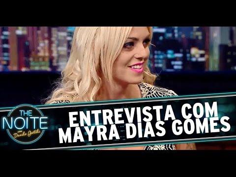 The Noite (02/09/14) - Entrevista com Mayra Dias Gomes