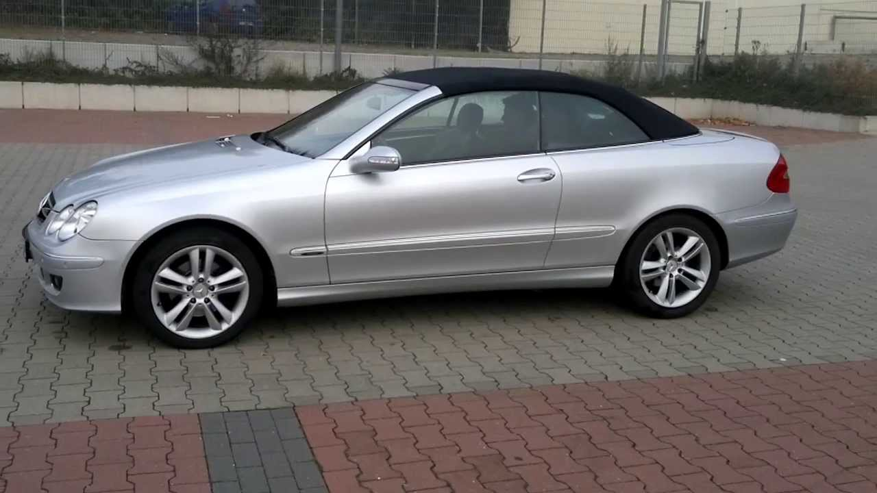 mercedes clk 200k cabrio 2011 youtube. Black Bedroom Furniture Sets. Home Design Ideas