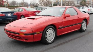 1987 Mazda RX-7 Turbo II Start Up, Exhaust, and In Depth Review
