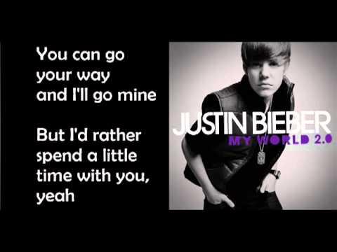 Justin Bieber - Kiss and Tell [Lyrics][HQ]
