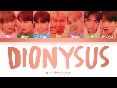 Download BTS 방탄소년단  -  'DIONYSUS' S Color Coded s Eng/Rom/Han Mp4 baru