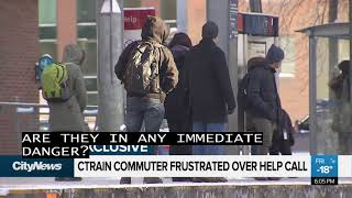 Calgarian shares frustration over CTrain help call