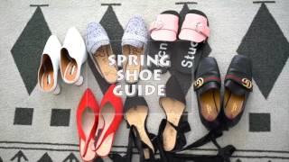 2017 Spring Shoe Haul & Try-on!! |Spring Shoe Trends | Lookbook | IrisOOTD