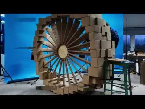 The building of a CFM56 box engine