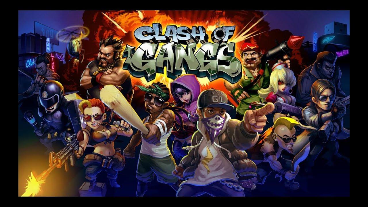 ������ ������������ : Clash of Gangs v1.4.1 �����