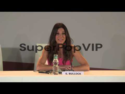 INTERVIEW - Sandra Bullock On Her Workout Plan At Gravity...