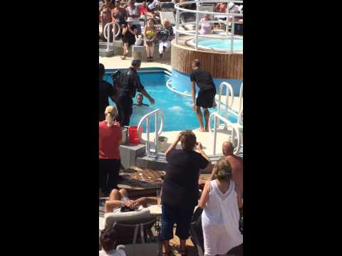 Azamara Quest Ice Bucket Challenge