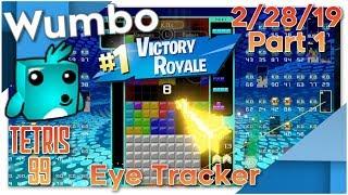 Tetris 99 Battle Royale - Win Streaks Wumbo 580+ Wins