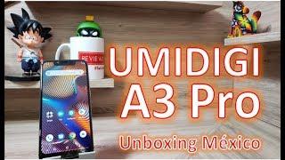 Umidigi A3 Pro Unboxing Mexico