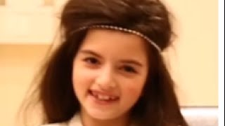 Angelina Jordan - interview april 9th, 2014, english subtitles  - I (who have nothing) a capella