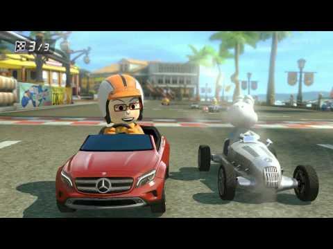 Wii U - Mario Kart 8: Miiverse Tom & Amy Play New DLC