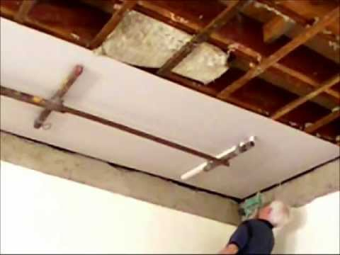 How to Install an Ornate Plaster Ceiling Part 2