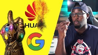 Google Cuts Off Huawei's Android License Here's What This REALLY Mean!