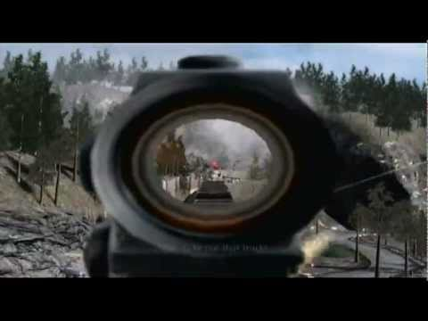 "Modern Warfare 1: Last Mission ""Game Over"" (Ending of MW1)"