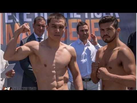 Batyr Jukembaev (KAZ) vs Randy Lozano (MEX)