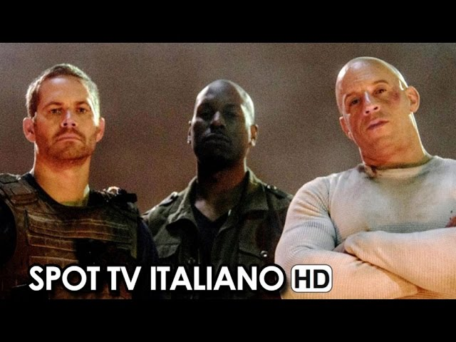 Fast & Furious 7 Spot Italiano 'Fratelli' (2015) - Vin Diesel, Paul Walker Movie HD